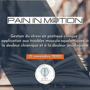 formation stress Jo NIJS Liège Belgique KYMO Formation 2020 Pain In Motion