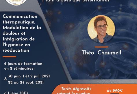 Hypnose 2021 Théo chaumeil formation KYMO Liège Belgique
